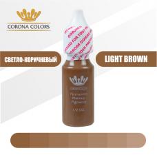 Пигмент Светло-Коричневый (Light Brown) 15 мл