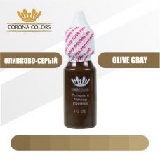 Пигмент Оливково-Серый (Olive Gray) 15 мл