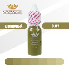 Пигмент Оливковый (Olive) 15 мл