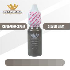 Пигмент Серебрянно-серый (Silver Gray) 15 мл
